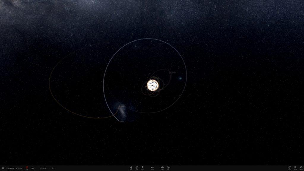 wolf 359 disrupted Sedna Universe Sandbox ² - 20160811-134941 UI