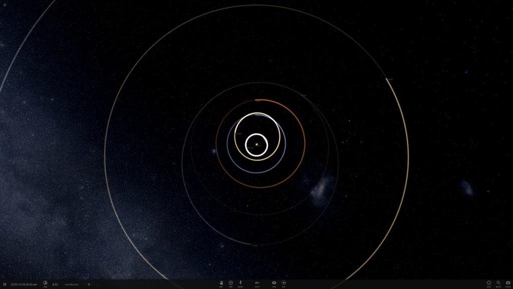 wolf 359 inner solar system disruption 32751 Universe Sandbox ² - 20160811-140046 UI